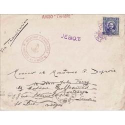 """AVISO """" TAHURE """" 1934"""