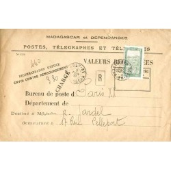 1930 Lettre de valeurs à...