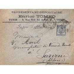 1904 lettre papiers...