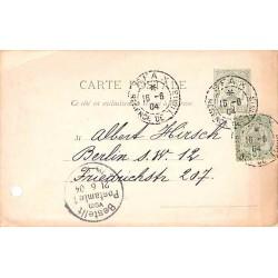 1904 Entier carte postale...