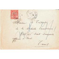 1905 Lettre Tunisie 23 de...