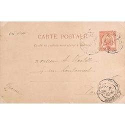1902 Entier  cachet...