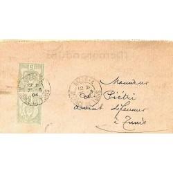 1904 Pli Affranchissement...