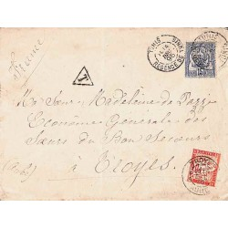 1895 Lettre à 15 c. de...