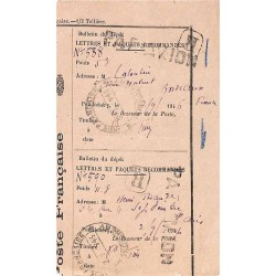 1946 Récepissé de dépôt de...