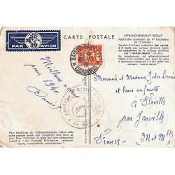 Carte spéciale Air France à tarif réduit (plis)
