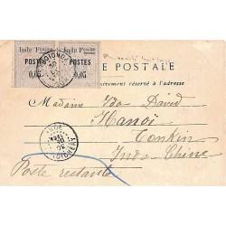 1904 Carte postale pour...