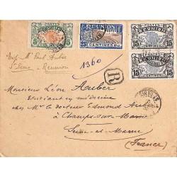 1921 Lettre recommandée...