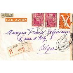 1945 Lettre à 12 f.  de...