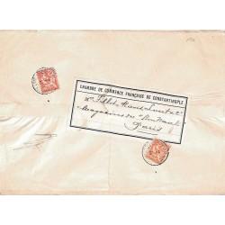 1904 Bande de journal pour...