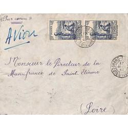 1942 lettre à 4 f 50 de...