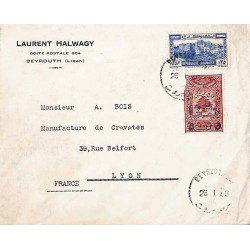 1946 BEYROUTH R.P Lettre