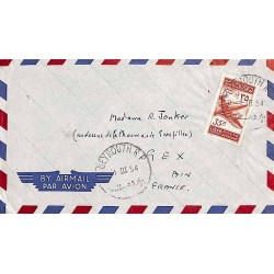 1954 BEYROUTH RP Lettre avion