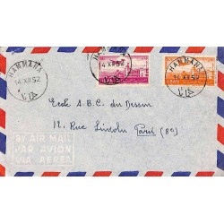 1952 HAMMANA Lettre avion