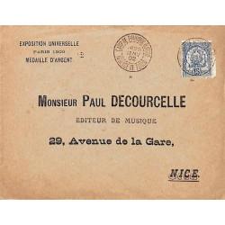 1902 Lettre Oblitération...