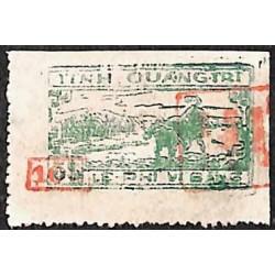 Quang-Tri  timbre fiscal...