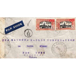 1940 Lettre avion pour les...
