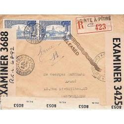 1940 Lettre à 3 f de POINTE...