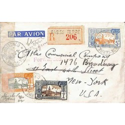 1941 Enveloppe pour les USA...