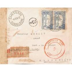 1942 Lettre pour la...