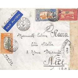 1941 Lettre avion pour la...