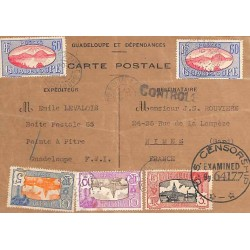 1944 Carte de fabrication...