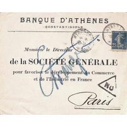 1919 Lettre...