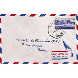 1953 SAIDA I Liban bureau...