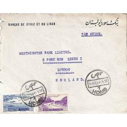 1951 Lettre avion pour la...
