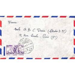 DEIR-EL-ZOR 1956 Lettre...