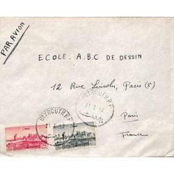 1952 Lettre Liban PA66, PA70