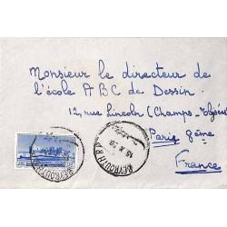 1950 lettre Liban PA63 de...