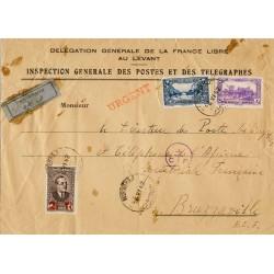 1942 Enveloppe de service...
