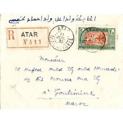 ATAR  MAURITANIE 1935...