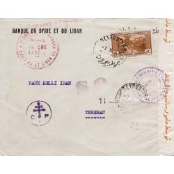 1943 Lettre pour la Perse...