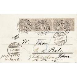 1904 Carte postale...