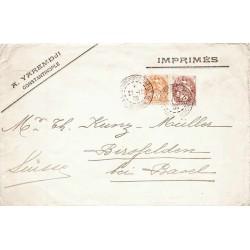 1909 Enveloppe pour...