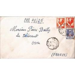 Timbre Marianne et Coq d'Alger 6