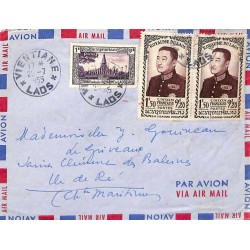 VIENTANE * LAOS * 1955