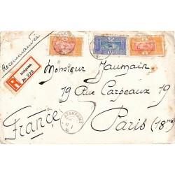 1916 Lettre à 45 c en...