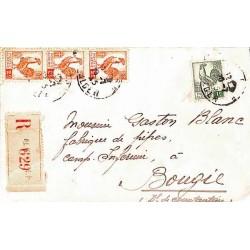 1945 Lettre à 7 f....