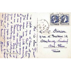 1946 Carte postale à 3 f....