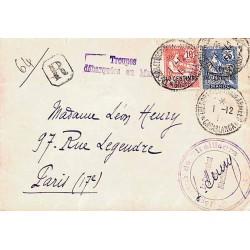 CASABLANCA * TRESOR ET POSTES AUX ARMEES *  1911