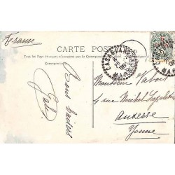 CASABLANCA MAROC 1908 Affranchissement 11