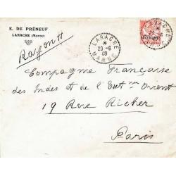 LARACHE MAROC 1909