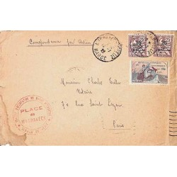 MARRAKECH-GUELIZ MAROC 1922
