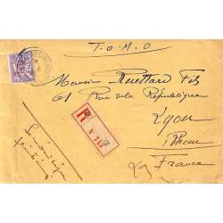 RABAT - RESIDENCE MAROC 1914