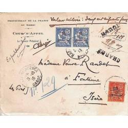 RABAT - RESIDENCE MAROC 1919