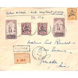 RABAT - RESIDENCE MAROC 1922