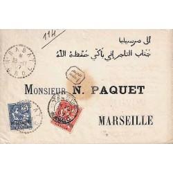 RABAT et TANGER MAROC 1907